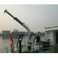 Quality Marine Deck Knuckle Boom Crane Portable Type With Advanced Components for sale
