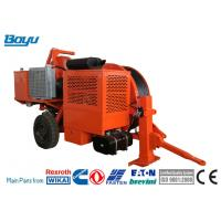 China Overhead Line Stringing Equipment Diesel 77kw(103hp) Hydraulic Tensioner Max intermittent pull 70kN on sale