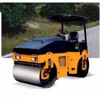Quality 4.5 Ton Four Wheels Full Hydraulic Vibratory Road Roller for sale