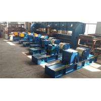 Quality Tank Pipe Rollers Heavy Duty 100 Ton Rotary Capacity Self Centering for sale