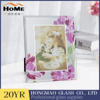 Quality Creative Non Reflective Glass Photo Frames , A3 Glass Photo Frame High Rigidity for sale