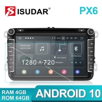 Quality NXP6686 1280x720 Android Car DVD Player 48W For VW/Golf/Tiguan for sale