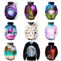 Quality 2017 European size 3d sweatshirt men sublimation printed hoodies custom hoodies 100% 	polyester for sale