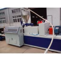 China PP / PE Single Wall Corrugated Pipe Extruder With Single Screw Extruder on sale