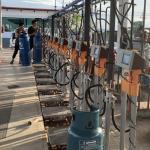 China CNEX 220V 180kg LPG Gas Cylinder Filling Machine for sale