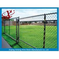 China High Security Decorative Chain Link Fence Low Carbon Iron Wire Material on sale