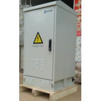 Quality IP55 Waterproof 18U Outdoor Telecom  Cabinet With Rectifier Module Battery / Outdoor Power Enclosure for sale