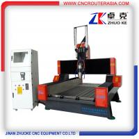 Buy Z-500mm Heavy Duty 4 Axis Stone Carving Machine CNC Machine For Marble Granite ZK-9015 at wholesale prices