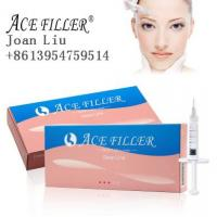 Best ACE cross linked 1ml deep line hyaluronic acid filler injection for lip enhancement wholesale