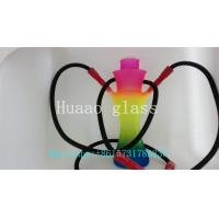 Best glass  ShiSha  multicolor  hand blown glass pipes sandblasted  glass smoking pipe wholesale