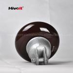 ANSI 52-1 Porcelain Suspension Insulator Anti Fog OEM / ODM Available