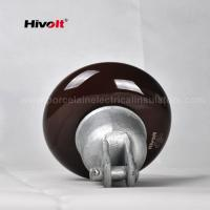 Quality ANSI 52-1 Porcelain Suspension Insulator Anti Fog OEM / ODM Available for sale