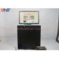 Quality 17 Inch LED / LCD Screen Lift Office Video System with Aluminum Alloy Panel for sale