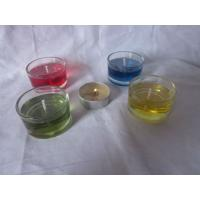 Quality glass gel candles for sale