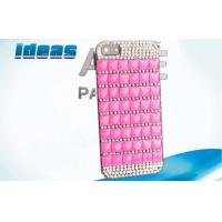 Quality Import Diamond Cell Phone Leather Cases Iphone 4 / 5 Case In Phone Case for sale