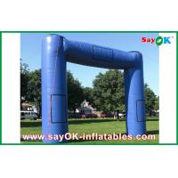 Buy cheap Blue Huge Inflatable Archway Oxford Fabric Commercial Inflatable Structure from wholesalers