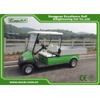 Quality CE Approved Green 48V Trojan Hotel Buggy Car , 2 Seats Electric Utility Golf Carts for sale