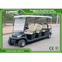 Quality Excar 48V 2 Passenger Electric Sightseeing Bus , Max.Forward Speed 23km/h for sale