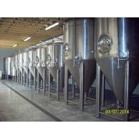 Quality Stainless Steel Pro Beer Brewing Equipment 10BBL Fermentation Tank Four Legs for sale