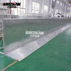 Quality Concert Mojo Event Folding Aluminum Crowd Control Barrier 2mm Mesh for sale
