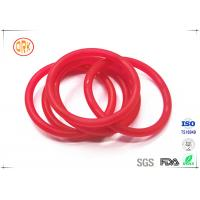 Quality Red Acid Resistance Ageing Resistance EPDM Customized O Ring Shape For Chemical for sale