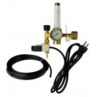 China High Flow Victor Hydroponic And Garden Greenhouse Solenoid CO2 Regulator With Heater on sale