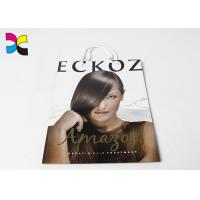 Quality Hair Care Items Printed Carrier Bags With White Handle In CMYK Color Eco - Friendly for sale