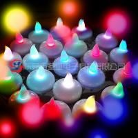 China Water floating LED tealight candles , ABS  plastic  flameless battery operated tealight candles on sale