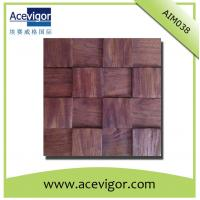 China Wall tiles mosaic in antique wood decoration on sale