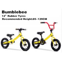 "Quality 12""  High Quality  High Carbon Steel 2in1 Kids Balance Bike With Pedal Children Bicycle for 2-12 Years Yellow for sale"