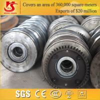 Quality Chinese manufacture forged overhead travelling shipping container wheels for sale