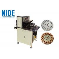 Quality Fast Automatic Coil Winding Machines More Efficent , Table Fan Stator Winding Machines for sale