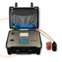 Quality Automatic Portable Oil Pollution Degree Tester Oil Particle Counter for sale