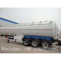 China factory direct sale tri-axle 21 ton lpg gas transport trailer with sunshade insulation, 21tons lpg gas trailer for sale on sale