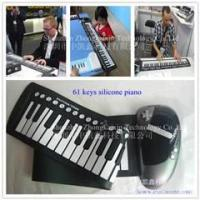 2012 hot selling 61keys roll up piano for promotion!