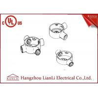 Quality Hot Dip Galvanized Electrical Junction Box One Way To Four Way , Size Customized for sale