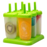 Quality BPA Free Frozen Ice Pop Maker Molds for sale