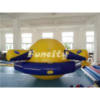 China Planet Saturn Shape Inflatable Water Toys Floating For Water Park Playing on sale