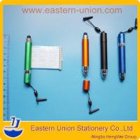 Best 3 in 1 advertising banner stylus touch screen pen and mini promotional ball pen wholesale