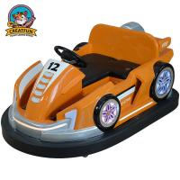Quality 360 Degree Circling Amusement Park Bumper Cars For Game Machine Theme House for sale