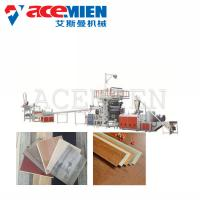 Quality Click Vinyl SPC Flooring Machine 30X4X4M Power 150-250 KW Easy Operation for sale