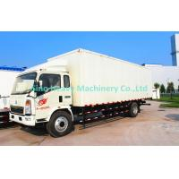 China Box Type Unloading Light Duty Truck 8 Ton With EURO II Emission Standard on sale