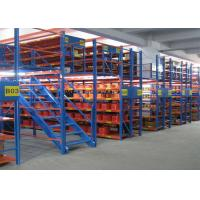 China Cold Rolled Steel Structural Metal Storage Shelves Load 500kgs Robot Welding on sale