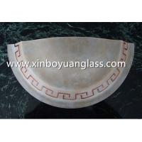 Quality Half-cut Centrifugal glass wall lampshades for sale
