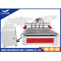 Best Multi - Head 4 Axis CNC Wood Router / 3d CNC Wood Carving Machine Fuling Inverter wholesale