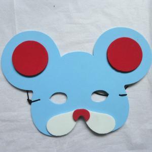 Best Halloween Christmas Children Cartoon EVA Forest Animal Mouse Mask wholesale