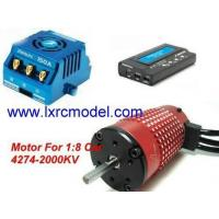 Quality Xerun 150A ESC and Red leopard 4274sl motor and LCD Program Card Combo for 1/8 Car for sale