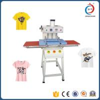 Buy cheap Double Sided T Shirt Semi - Automatic Heat Transfer Machine Adjustable Pressure from wholesalers