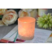 Best Gifts Tealight Glass Candle Holder Orange Romantic Heat Resisting wholesale