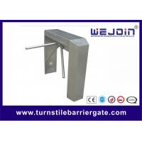 China Indoor / Outdoor Semi - Automatic Turnstile Security Gates With 490mm Arm Length on sale